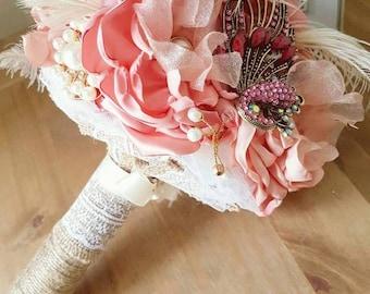 Brooch/flower bouquet