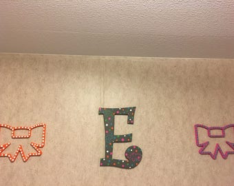 Custom Letters and Bows