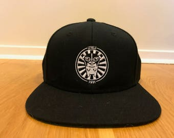Little Dude Snap back Cap (Black)