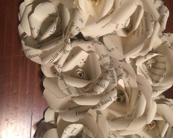 Harry Potter Book Flowers