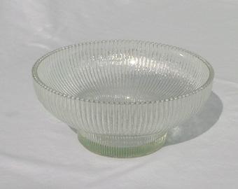 vintage hoosier glass pedestal bowl/centerpiece