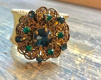 Blue & Green Bling Ring