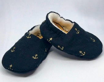 Soft Baby Shoes – Anchors