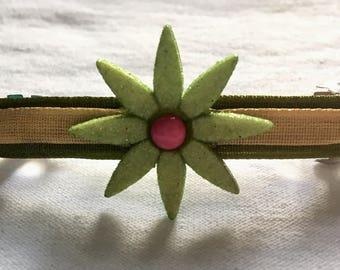 Gorgeous Handmade Flower Barrette!