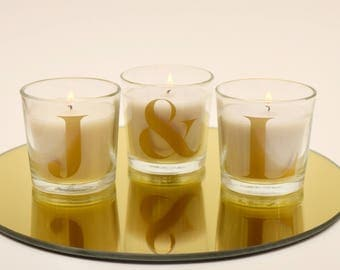 Initial Candle | Personalised Candle, Monogrammed Candle, Candle Initials Candle, Candle Inital, Letter Candle, Candle Letter