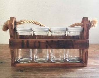 Honey Jars Crate
