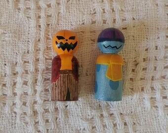 Quiet Time Pals Wood Peg Dolls