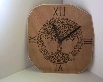 Yggdrasil clock