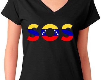 SOS Venezuela Shirt - WOMEN & MEN