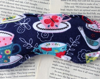 Rice Eye Mask - Jane Austen/Tea Lovers Pattern