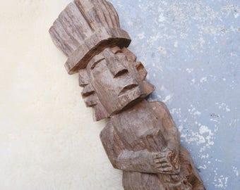 Vintage Tiki Statue