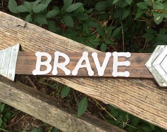 Brave/Arrow Wall Decor