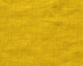 washed linen mustard 280g