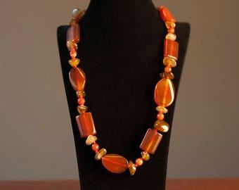 Serdolik Natural Stone Necklace
