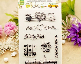 LOVE 7 stunning model silicone pads