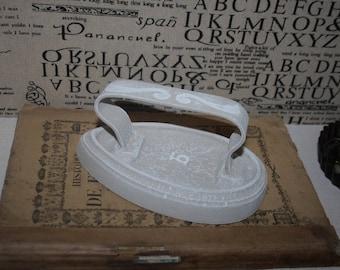 Old laundry iron cast iron