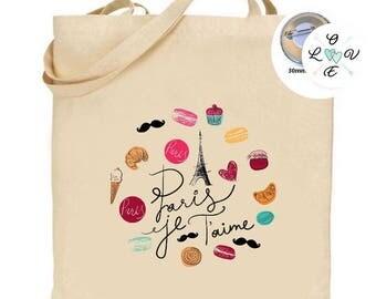 I love you tote bag Paris