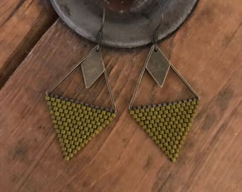 Bronze earrings •TYANA •