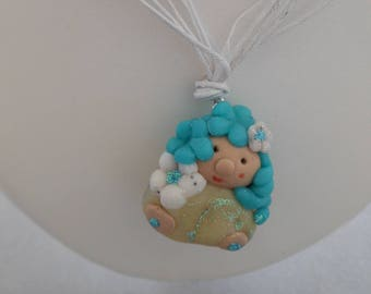 NECKLACE MINI BABALINES - COLLECTION CYANNE 02