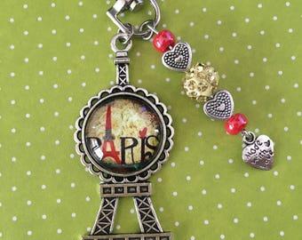 Eiffel Tower PARIS Glamour bag charm