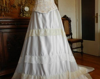 Chenonceau model wedding dress