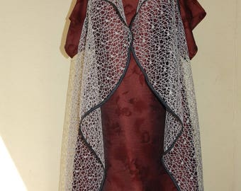 plus size Cardigan, jacket, top of dress.