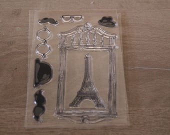 EIFFEL TOWER CLEAR STAMPS