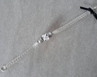 Bracelet chain is 17cm beads