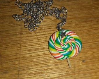 lovely colorful necklace