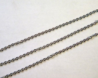 50 cm chain 2 mm stainless steel AB1