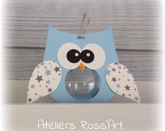 box dragees original owls wings stars theme