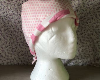 Fabric block Cap Pink