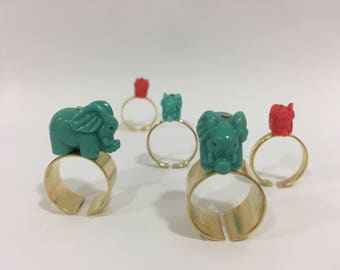Stackable rings of elephants