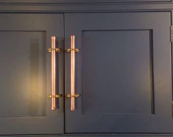 Bespoke Copper Handle/Drawer Pull