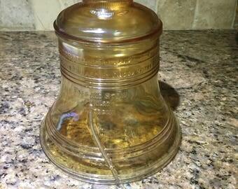 Bicentennial liberty bell cookie jar by Bartlett Collins