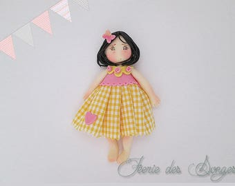 Ilona cold porcelain doll