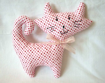 Toy for babies and children dot fabric
