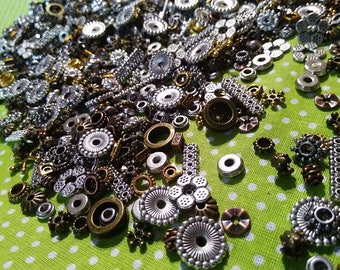 approximately 45 piece set of 20 grams of spacers separators for 5-23 mm