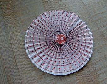 Rosette in medium paper pattern - Valentine's day Theme