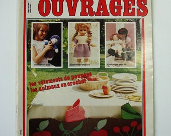 """Vintage crochet """"All the books"""" journal number 26. July 1985."""