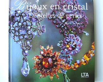 """Book """"Crystal jewelry. Lace beads""""Mary sweat Editions MAL."""
