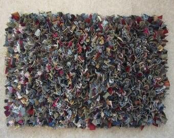 Tweed Rag Rug