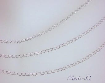 Chain mesh Extension 3.5 X 2.5 mm - stainless steel