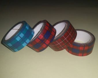 Tape masking tape Scottish theme