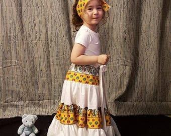 Provencal skirt. HAND MADE
