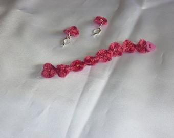Child set bracelet and earrings
