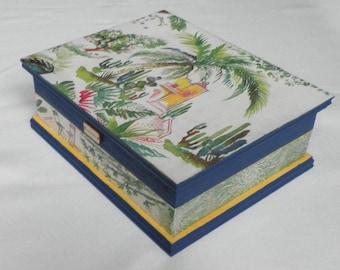 Exotic jewelry box