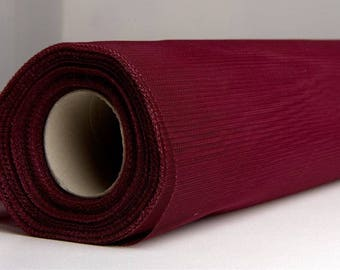 tulle colors soft Burgundy width 120 cm