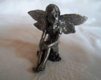 dancer Angel miniature beautiful fairy bronze fairy character