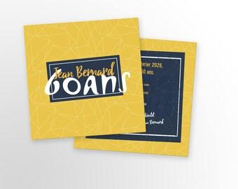 Birthday invitation card - A customize - birthday invitation card - child/adult